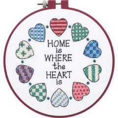 Home And Heart Beginners Cross Stitch Kit