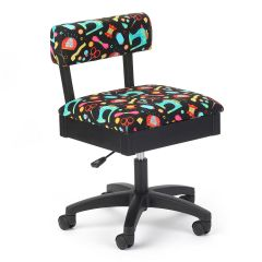 Hydraulic Sewing Chair Sewing Notions with Black Background | Arrow H7013B