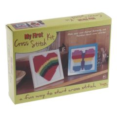 The Craft Factory CF200 My First Cross Stitch Kit Counted Cross Stitch Kit