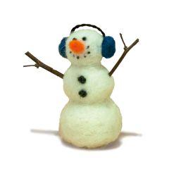 Needle Felt Kit: Snowman