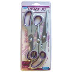 Soft Grip Value Pack Scissors Set 3 pack | Triumph BT4806