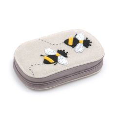 HobbyGift TK05A\347 | Bee Zip Sewing Kit | Contents Included! | 14 x 10 x 3cm