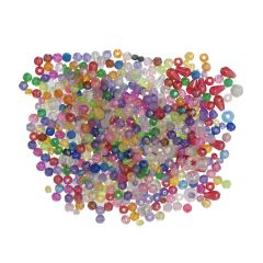 Beads Assorted: 1 x 250g Pack