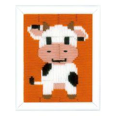 Long Stitch Kit: Cow