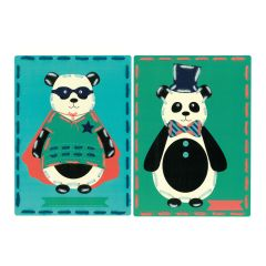 Embroidery Cards: Circus (Set of 2)
