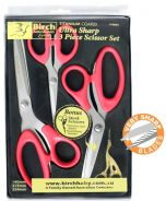 Ultra Sharp 3 Piece Scissor Set