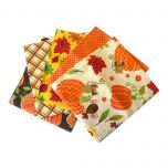 Fat Quarter Bundle Halloween 3 | Pack of 5 Fat Quarters by Sewing Online FE0027