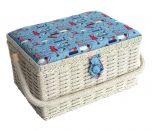Small Sewing Notions Sewing Basket 26 x 19 x 15cm | Sewing Online FM-006