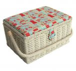 Notions Sewing Basket Multi 26 x 19 x 15cm | Sewing Online FM-008