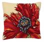 Extravagant Poppy Cushion Kit
