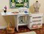 Sewing Machine Cabinet - Sewnatra White