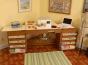 Sewing Machine Cabinet - Bertha Oak