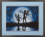 Twilight Silhouette Counted Cross Stitch Kit