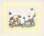 Counted Cross Stitch Kit Pet Friends Birth Record
