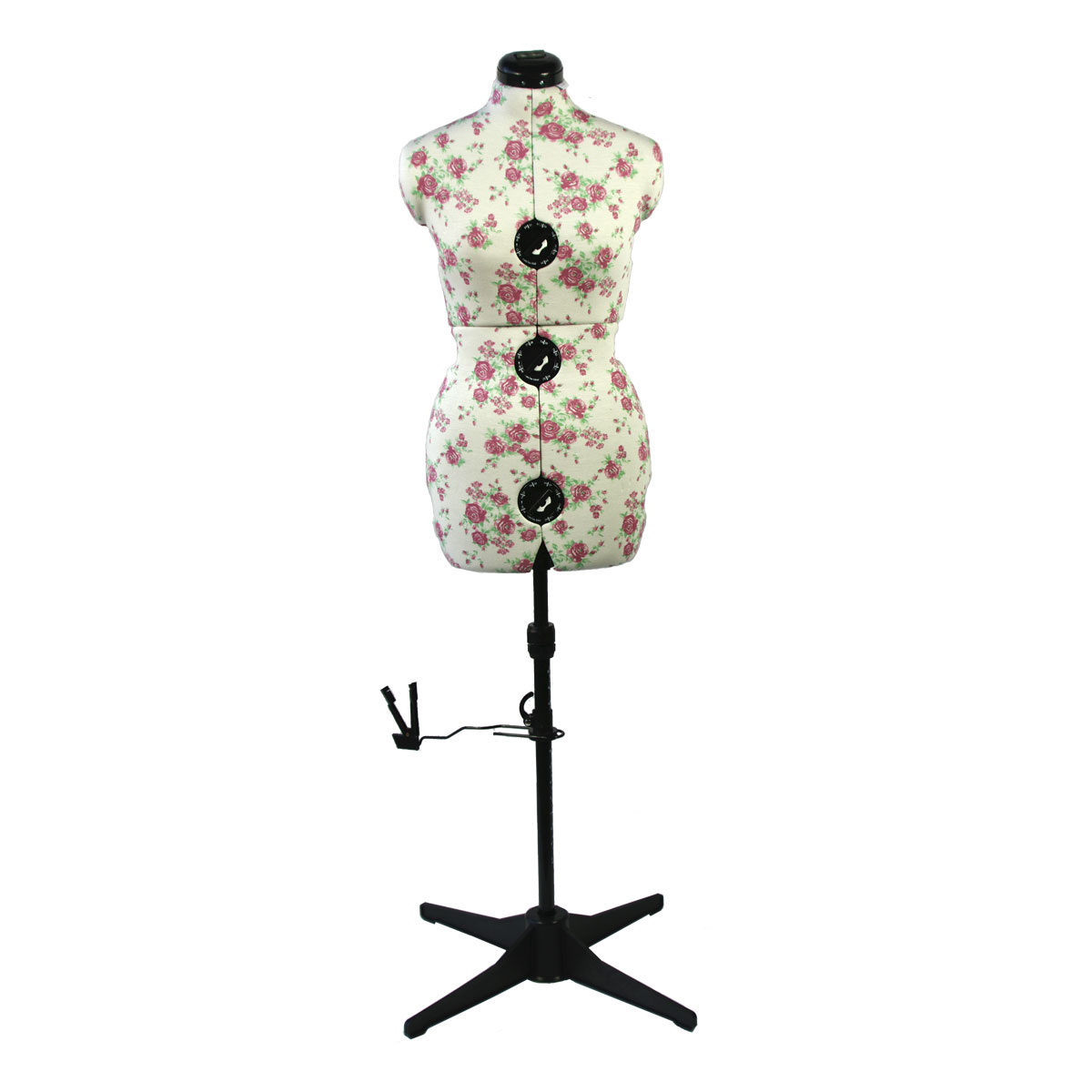 Sew Simple 8-Part Adjustable Dressmaking Dummy UK 10-16 Adjustoform 023816//Black