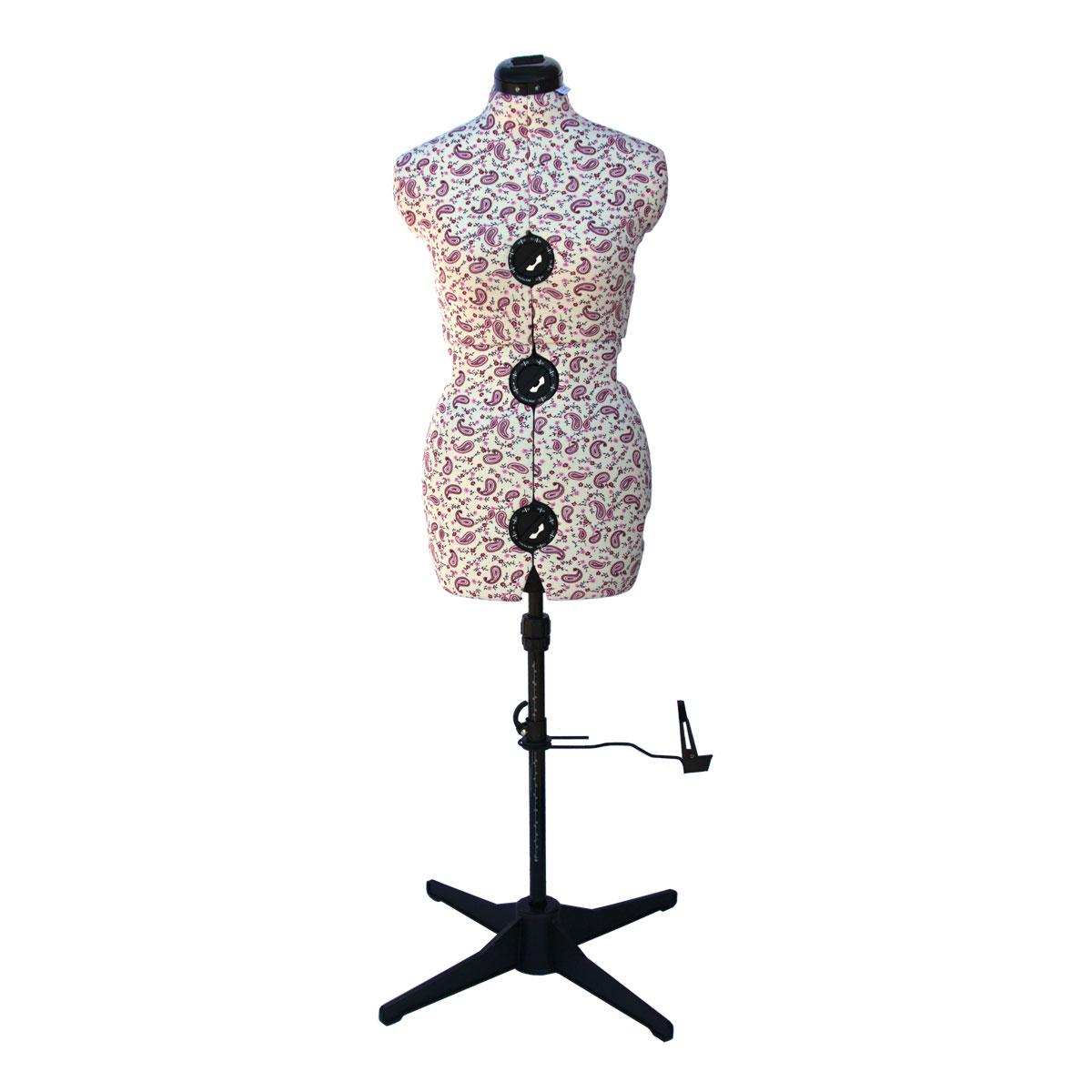 Florentine 8 Part Adjustable Dressmakers Dummy Small 10 16