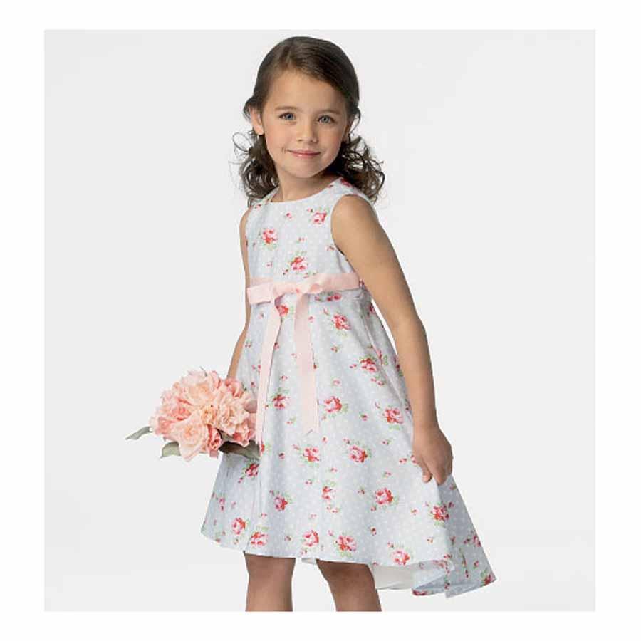 NEW   Butterick Childrens Sewing Pattern 6013 Girls Dress   FREE ...