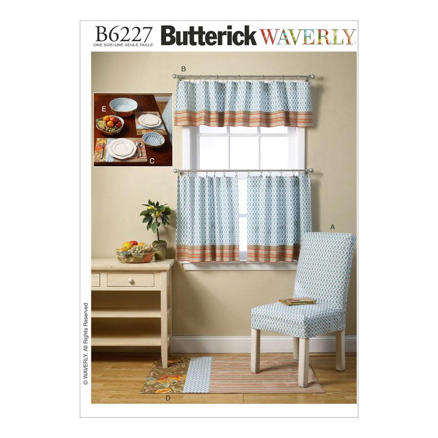 Butterick Waverly Sewing Pattern | B6227 | Kitchen Items | One Size ...