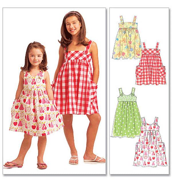 McCalls McCalls Crafts Childrens/Girls Sewing Pattern 5613 Dresses ...