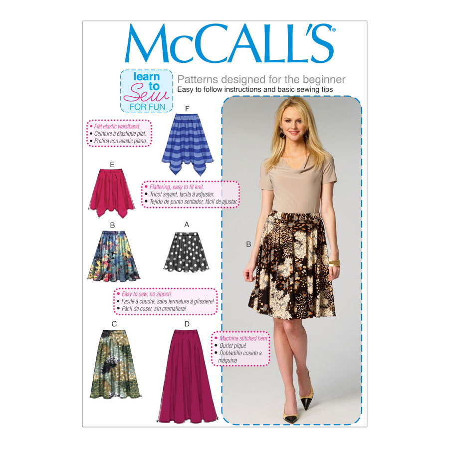 McCall\'s Learn to Sew for Fun Sewing Pattern   M6994   Misses ...