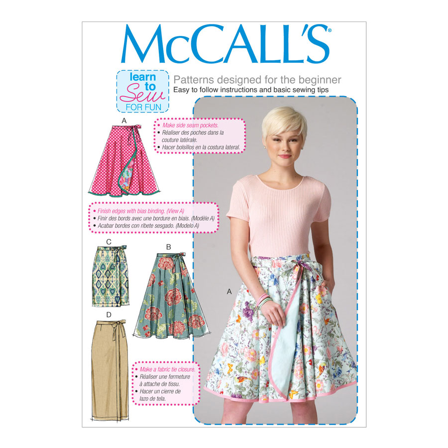 McCall\'s Learn to Sew for Fun Sewing Pattern   M7129   Misses ...