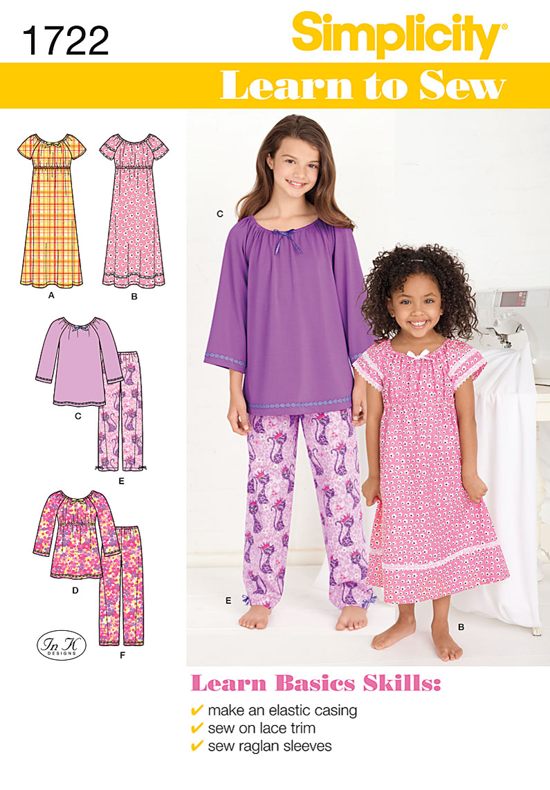 Attractive Kid Sewing Patterns Image - Blanket Knitting Pattern ...
