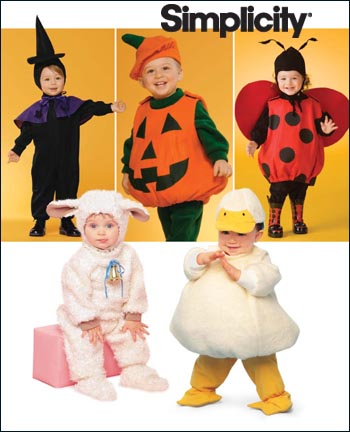Simplicity Toddler Sewing Pattern 2788 Halloween Costumes