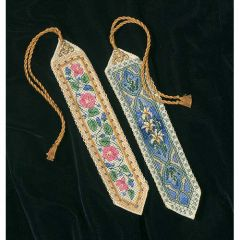 Elegant Bookmarks Cross Stitch Kit