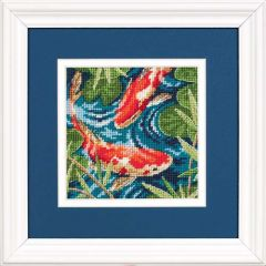 Koi Pond Needlepoint/Tapestry Kit