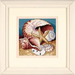 Shell Collage Needlepoint/Tapestry Kit