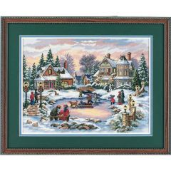 A Treasured Time Christmas Cross Stitch Kit