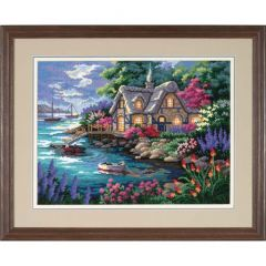 Cottage Cove Needlepoint/Tapestry Kit