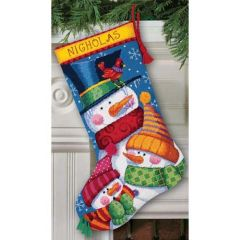 Freezin Season Christmas Cross Stitch Kit