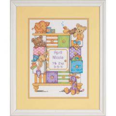 Baby Drawers Cross Stitch Kit