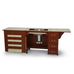 Sewing Machine Cabinet Norma Jean Cherry