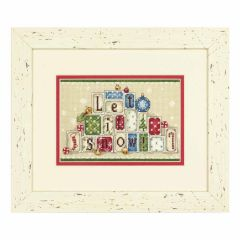 Counted Cross Stitch: Let It Snow