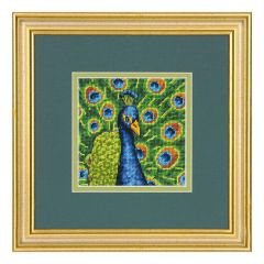 Needlepoint Kit: Colourful Peacock