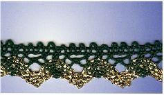 Metallic Lace 16mm