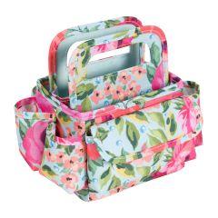 Desktop Organiser with Carry Handles - Multi Floral - Everything Mary EVM4638-5