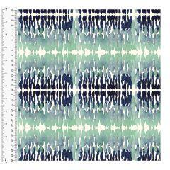 Cotton Craft Fabric 110cm wide x 1m - Charisma - Ink Blot -14999-MULTI