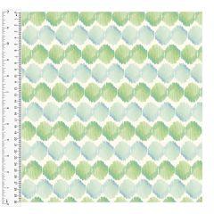 Cotton Craft Fabric 110cm wide x 1m - Charisma - Spiro Stripe  - 15001-MULTI