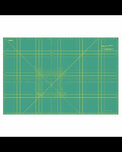 Olfa Self-Healing 2-Sided Rotary Cutting Mat Imperial/Metric Grid 87.5 x 57.5 cm