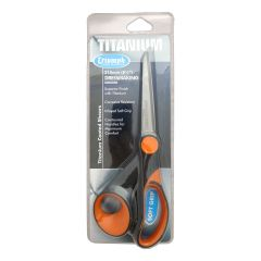Titanium Dressmaking Scissors 215mm Orange/Black | Triumph BT4824