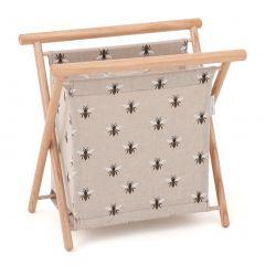 Folding Knit and Sew Frame -  Linen Bee - 23 x 36 x 36cm - HobbyGift HGKS-347