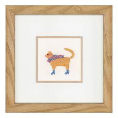 Counted Cross Stitch Kit: Rock Cats II (Linen)