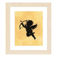 Counted Cross Stitch Kit: Cupid II (Evenweave)