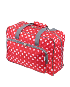 Sewing Machine Bag Red Dot 33 x 45.7 x 20.32 cm - Sew Stylish PT660-RED-POLKA
