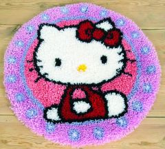 Latch Hook Rug Kit Hello Kitty