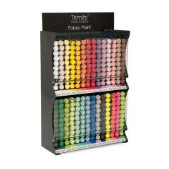 Trimits: Fabric Paint Pen Stand: 28 Colours