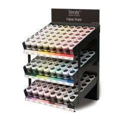 Trimits: Fabric Paint Pot Stand: 24 Colours